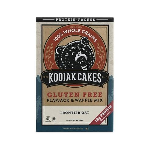 Kodiak Cakes Gluten Free Flapjack & Waffle Mix - 16oz - image 1 of 4