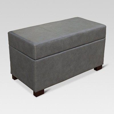 Essex Basic Storage Bench - Blue Gray - Threshold™
