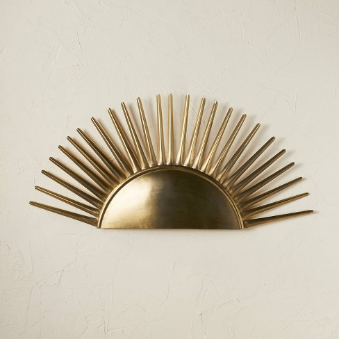 Metal Wall Art Brass - Opalhouse™ designed with Jungalow™ - image 1 of 4