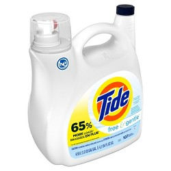 Tide Free & Gentle High Efficiency Liquid Laundry Detergent