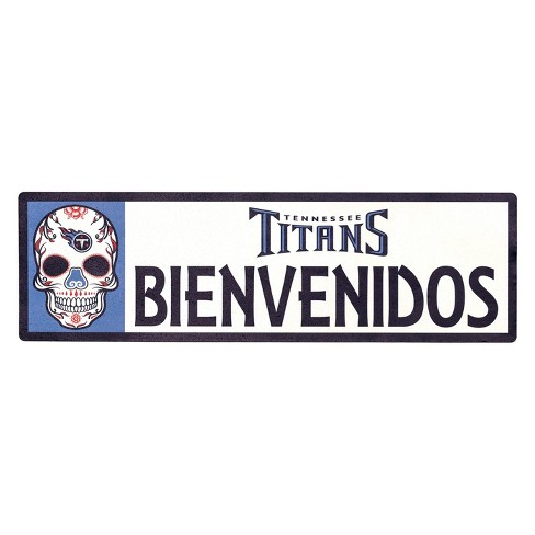 NFL Tennessee Titans Outdoor Bienvenidos Step Decal - image 1 of 2