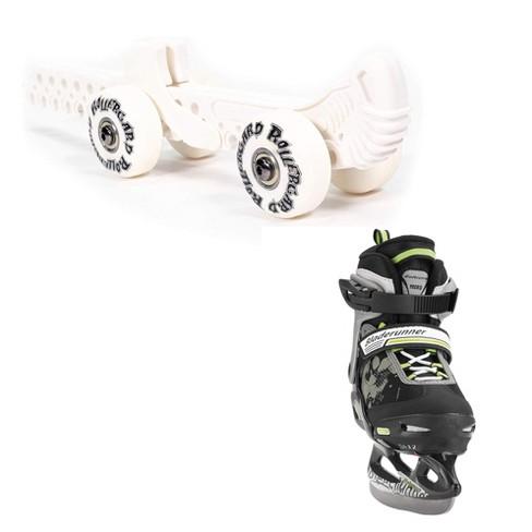 Rollergard Roller Figure Skate Guard, White (2 Pack) & Bladerunner Ice Skates - image 1 of 4