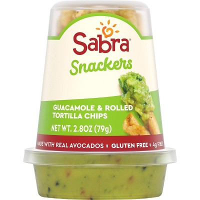 Sabra Guacamole & Go with Tostitos Dipping Rolls - 2.8oz