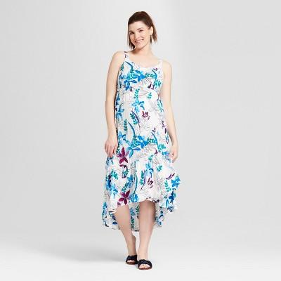 143f5f0b54514 Maternity Ruffle Skirt Dress - Isabel Maternity by Ingrid & Isabel™ Floral  Print XL
