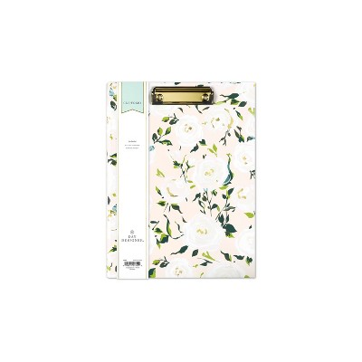 Day Designer Clipfolio with Writing Pad Coming Up Roses - Blue Sky