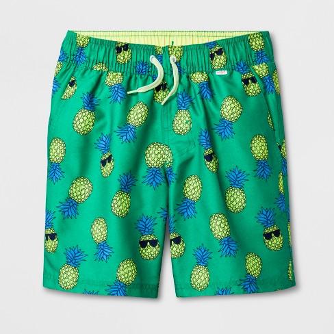 131d2a889b Boys' Volley Swim Trunks - Cat & Jack™ Green : Target