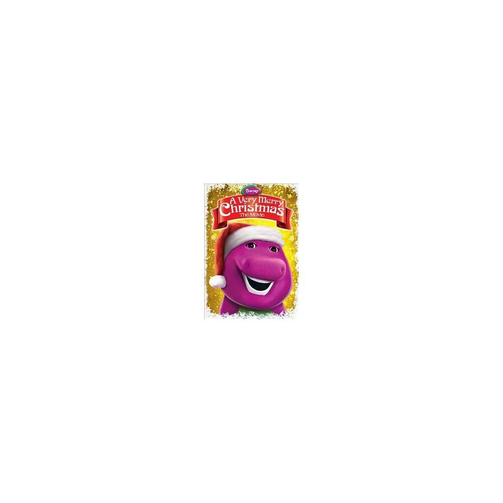 Barney:Very Merry Christmas The Movie (Dvd)