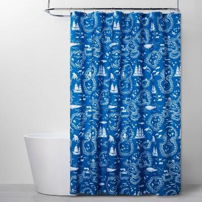 Treasure Map Shower Curtain - Pillowfort™