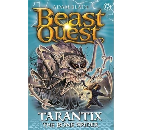 Tarantix the Bone Spider -  (Beast Quest) by Adam Blade (Paperback) - image 1 of 1