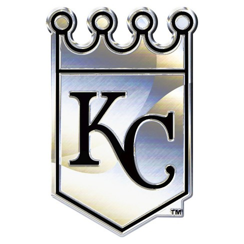 MLB Kansas City Royals Chrome Auto Emblem - image 1 of 1
