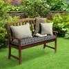 DriWeave Amalfi Trellis Outdoor Bench Cushion - Arden - image 2 of 2