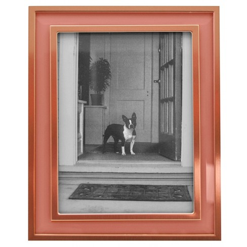 "5""x7"" Aspen Metal Frame with Bevel Glass Rose Gold - Threshold™ - image 1 of 1"