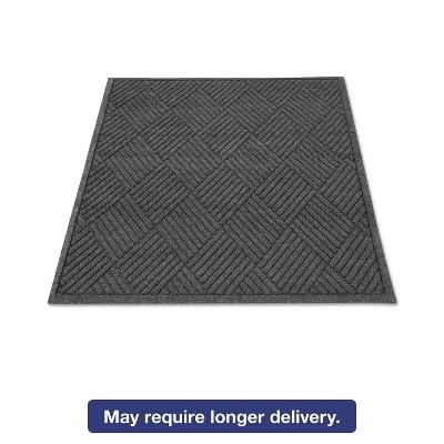 2'x3' Rectangle Solid Floor Mat Black - Guardian