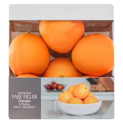 Vase Filler 6pc Orange - Lloyd & Hannah - image 1 of 2
