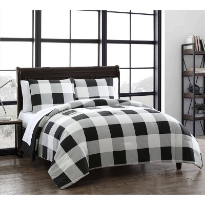 Buffalo Plaid 7pc Comforter Set - Geneva Home Fashion