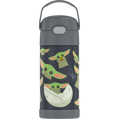 Thermos 12oz FUNtainer Water Bottle with Bail Handle - Baby Yoda