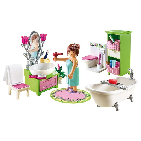 Playmobil Vintage Bathroom Playset - image 1 of 3