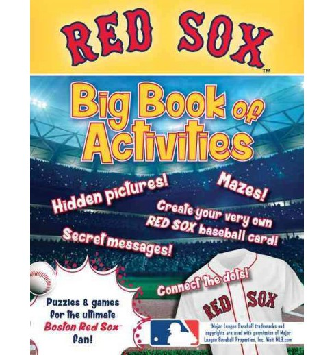 Boston Red Sox : The Big Book of Activities (Paperback) (Peg Connery-Boyd) - image 1 of 1