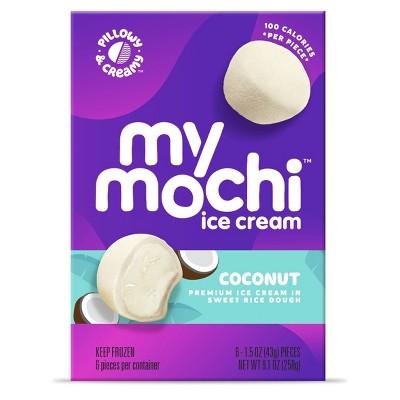 My/Mochi Coconut Ice Cream - 6pk