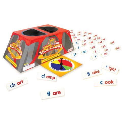 Junior Learning® Vowel Sound Volcano - A Word Building Adventure Game - image 1 of 1
