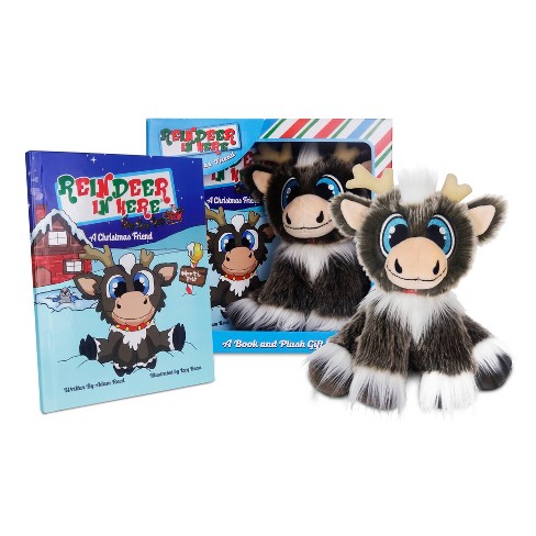 Reindeer In Here Book and Plush - by Adam Reed (Hardcover) - image 1 of 4