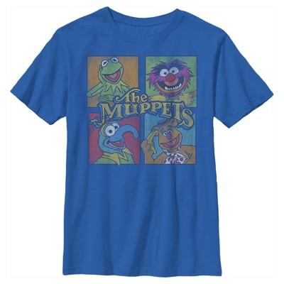 Boy's Disney Muppets Character Panels T-Shirt