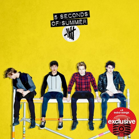 5 Seconds of Summer - 5 Seconds of Summer (Deluxe Edition) - Only at Target - image 1 of 4