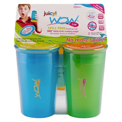 WOW Cup Sippy Cup Blue Green