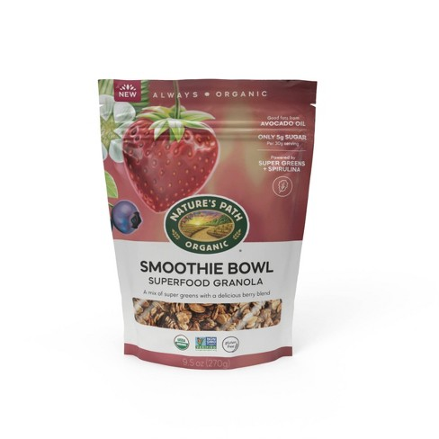 Nature's Path Smoothie Bowl Superfood Granola - 9.5oz - image 1 of 4