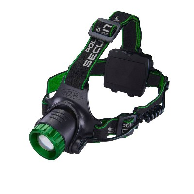Police Security Flashlights 850 Lumens Blackout Rechargeable LED Headlamp
