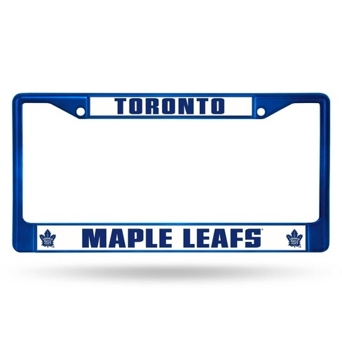 NHL Toronto Maple Leafs Colored Chrome License Plate Frame - image 1 of 1