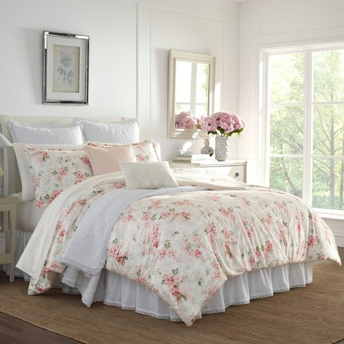 Laura Ashley Wisteria Comforter Set : Target