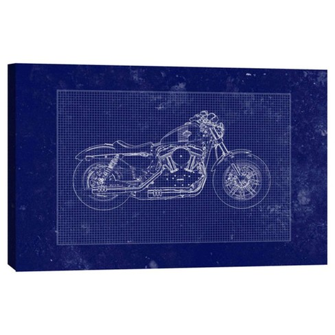 """Moto Draw Decorative Canvas Wall Art 11""""x14"""" - PTM Images - image 1 of 1"""