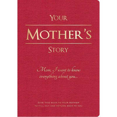 Your Mother's Story Lined Journal Red - Piccadilly