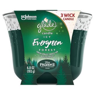 Glade Candle - Icy Evergreen Forest - 6.8oz