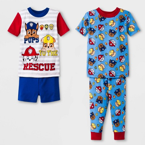 3cf231d9f Baby Boys  PAW Patrol 4pc Pajama Set - Navy   Target