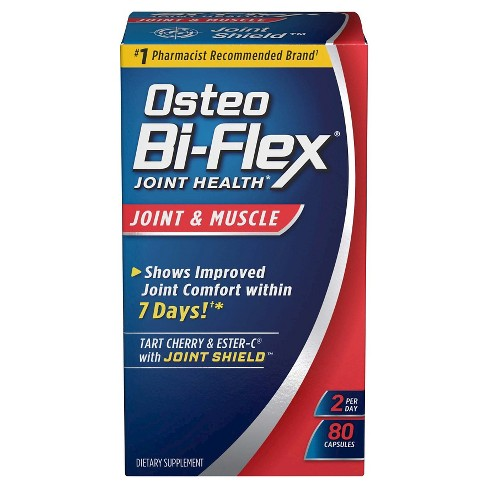 Osteo Bi-Flex Joint & Muscle Joint Health Dietary Supplement Capsules - 80ct - image 1 of 1