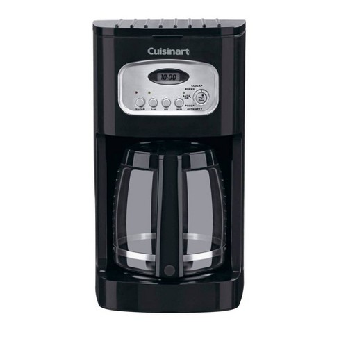 Cuisinart 12 Cup Programmable Coffee Maker - Black - image 1 of 4