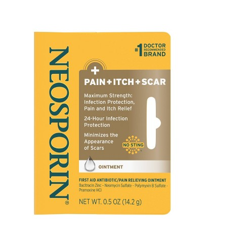 Neosporin First Aid Antibiotic and Pain Relieving Ointment - image 1 of 3