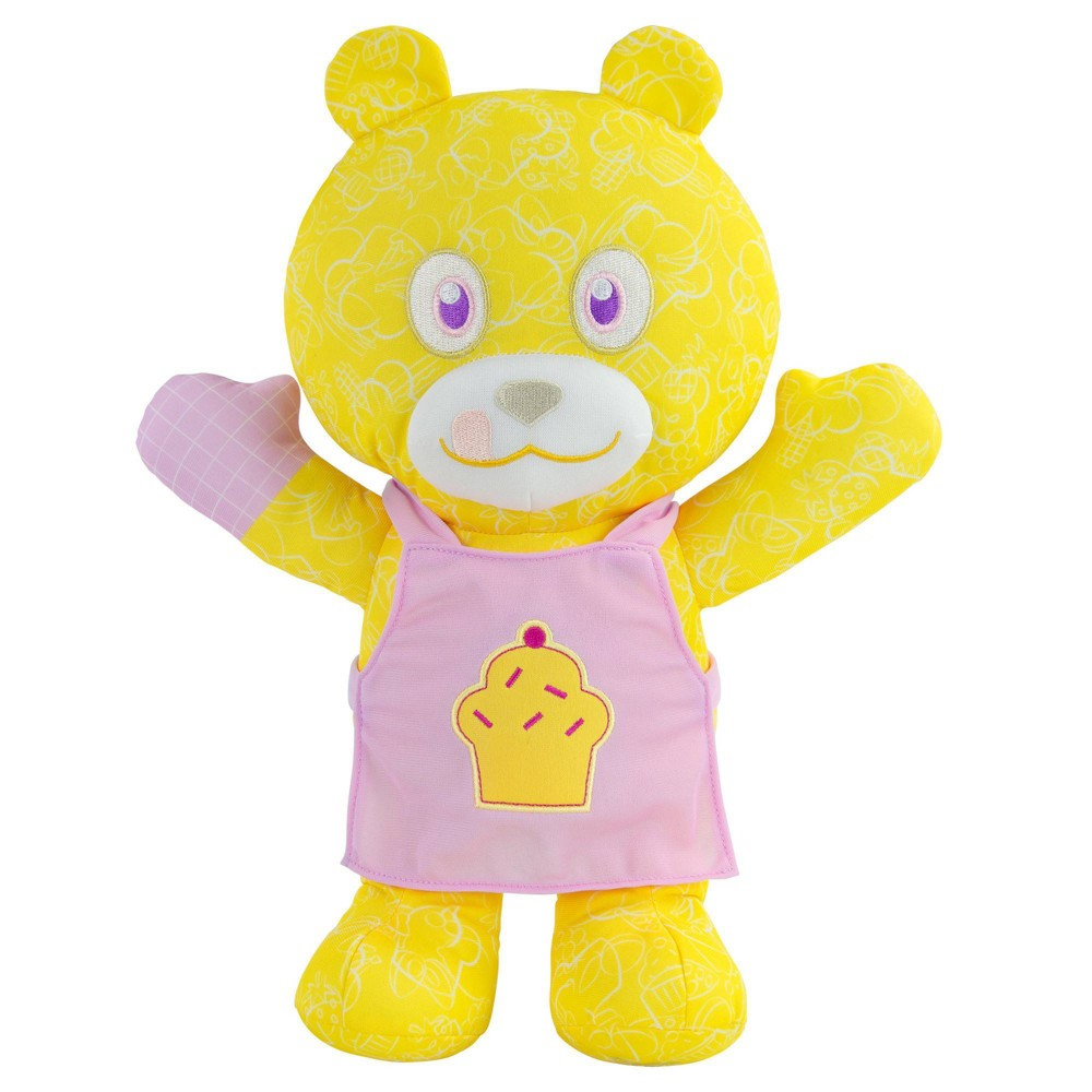 """Image of """"Doodle Bear 14"""""""" Plush Toy with 3 Washable Markers - Chef"""""""