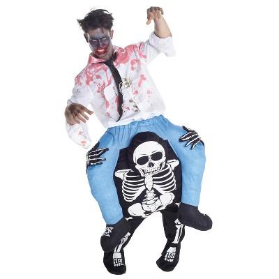Adult Skeleton Piggyback Halloween Costume