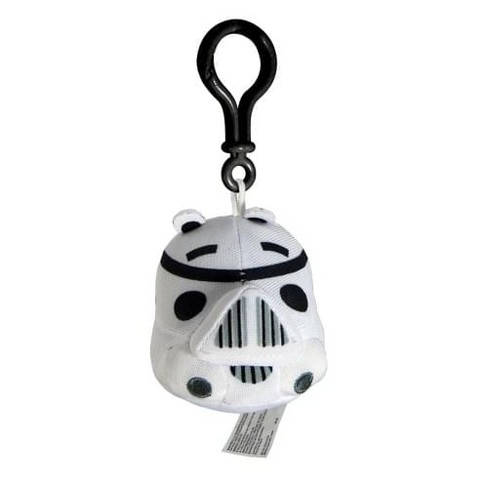 Commonwealth Toys Angry Birds Star Wars Plush Backback Clip On: Stormtrooper - image 1 of 1
