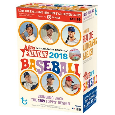 MLB Heritage Baseball Trading Cards Full Box - image 1 of 2