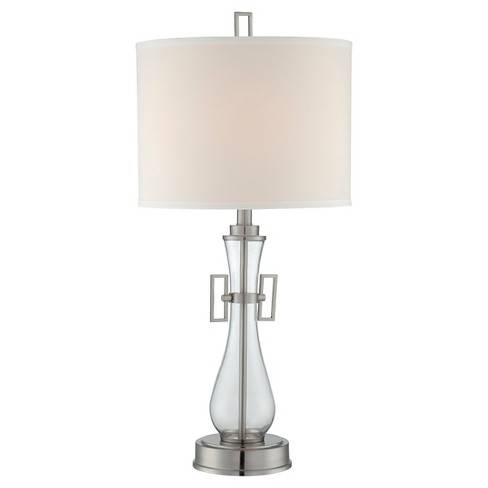 Dyani 1 Light Table Lamp - Steel/Off White - image 1 of 3