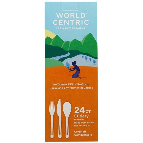 World Centric Disposable Utensils - 24ct - image 1 of 1