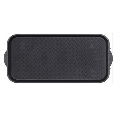 1'2 x2'6  Boot Tray Black - Mohawk