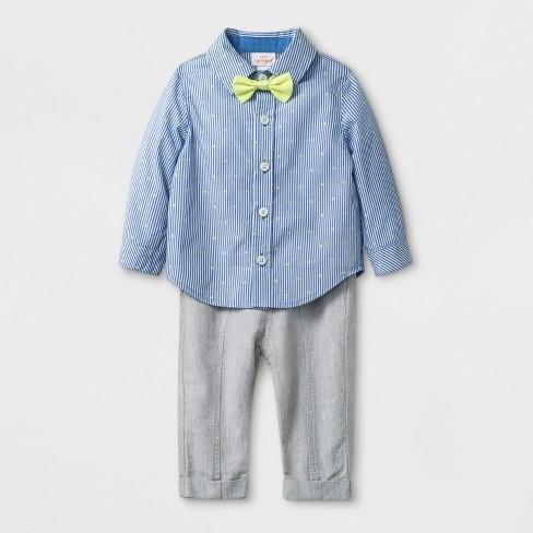 3099312d3 Baby Boys  3pc Long Sleeve Button-Down Shirt