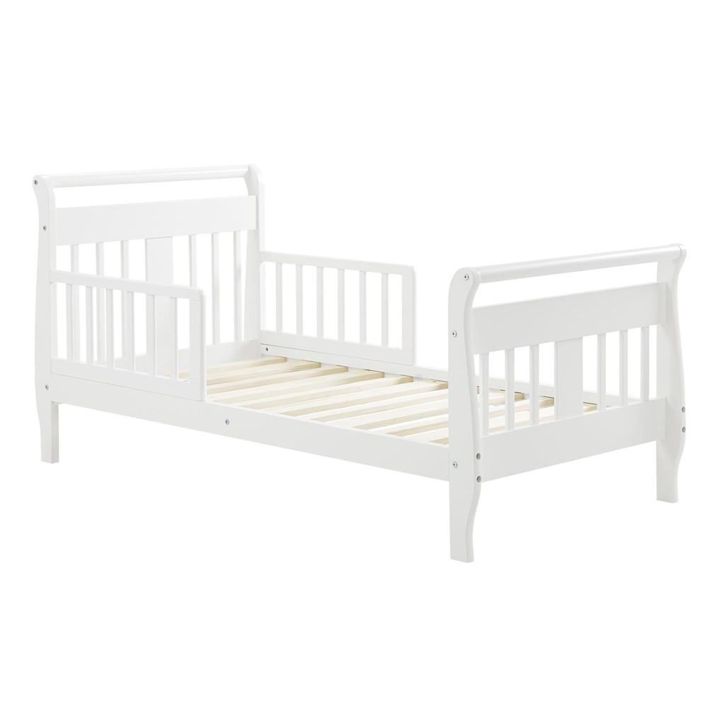 Image of Baby Relax Apollo Sleigh Toddler Bed White