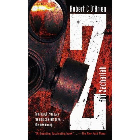 Z For Zachariah By Robert C O Brien Paperback