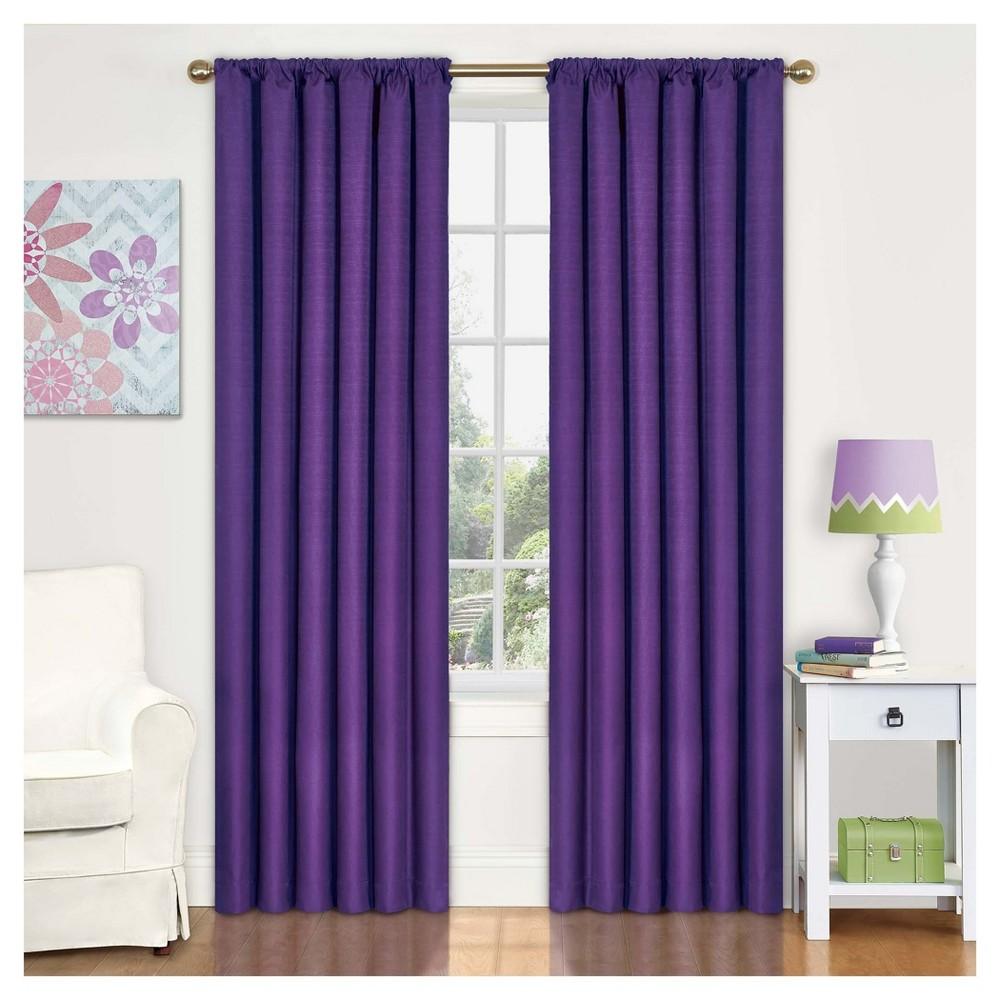 "Image of ""Eclipse My Scene Kendall Window Panel - Purple (42""""x63"""")"""